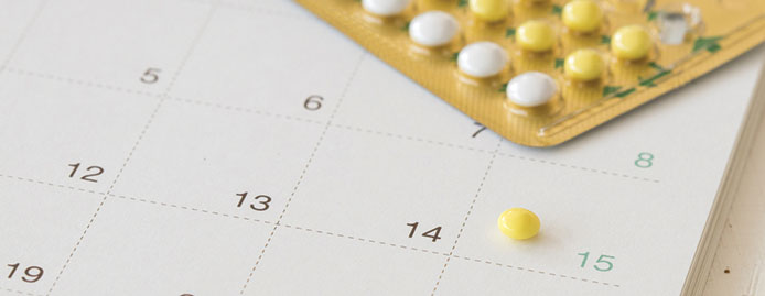 What birth control stops your period effectively?